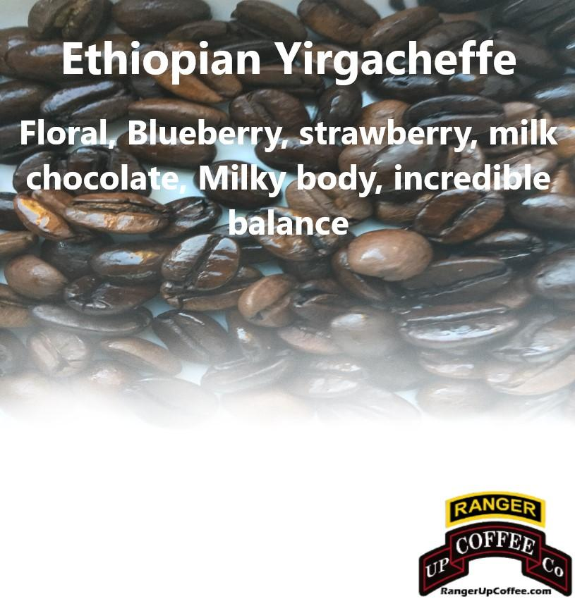 Ethiopian Yirgacheffe Coffee Ranger Up Coffee