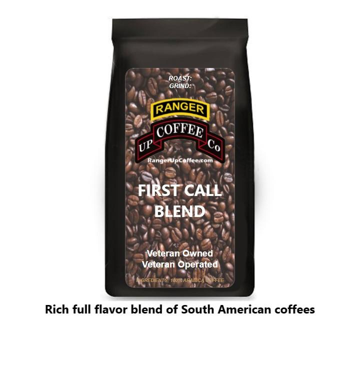 First Call Blend Coffee Ranger Up Coffee