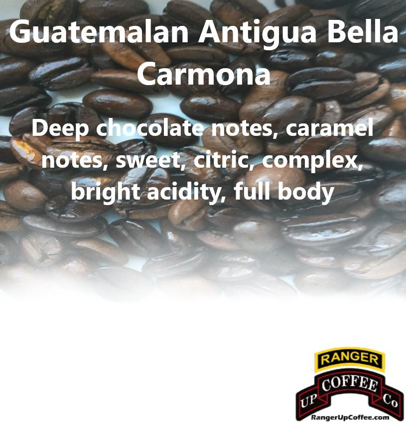Guatemalan Antigua Bella Carmona Coffee Ranger Up Coffee