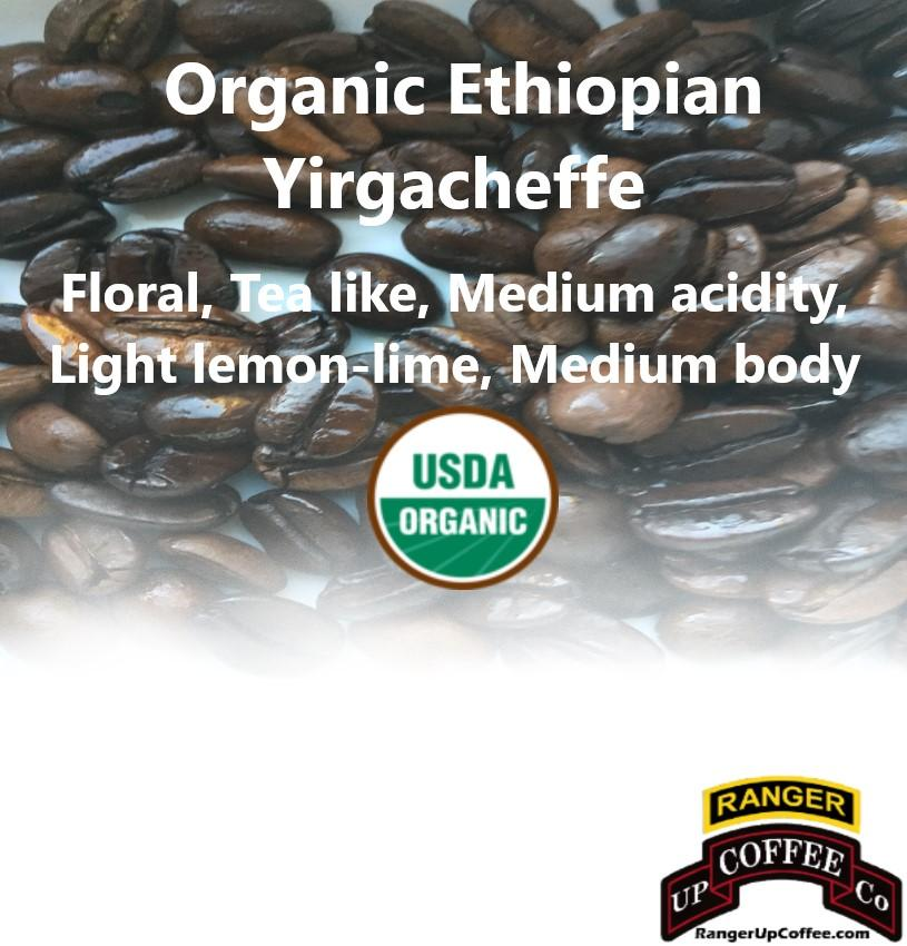 Organic Ethiopian Yirgacheffe Coffee Ranger Up Coffee