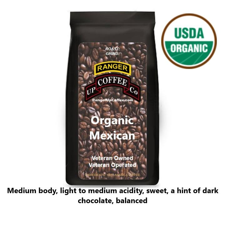 Organic Mexican Coffee Ranger Up Coffee