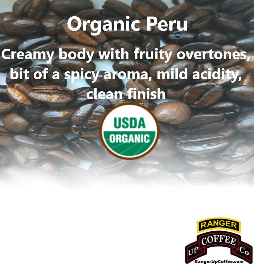 Organic Peru Coffee Ranger Up Coffee