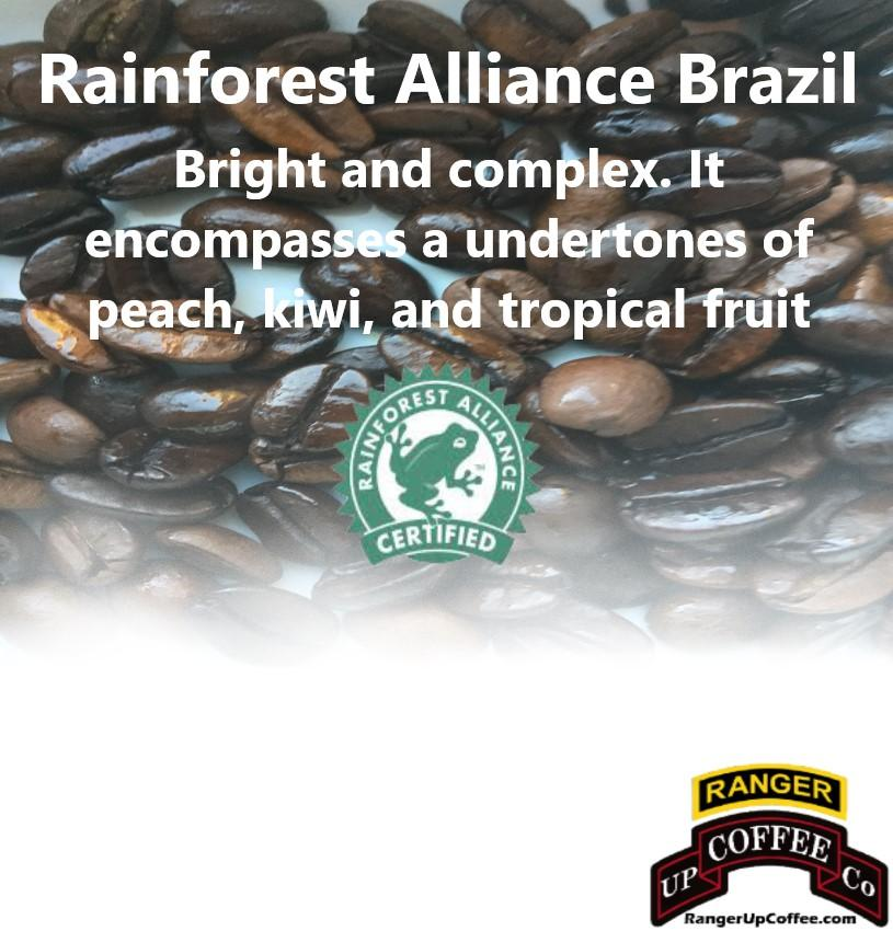 Rainforest Alliance Brazil Coffee Ranger Up Coffee