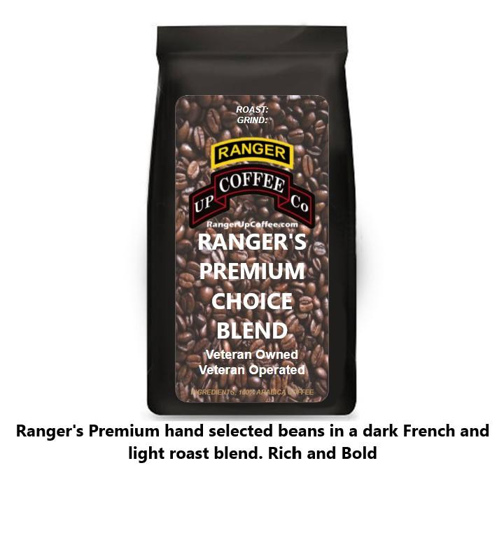 Ranger's Premium Choice Blend Coffee Ranger Up Coffee