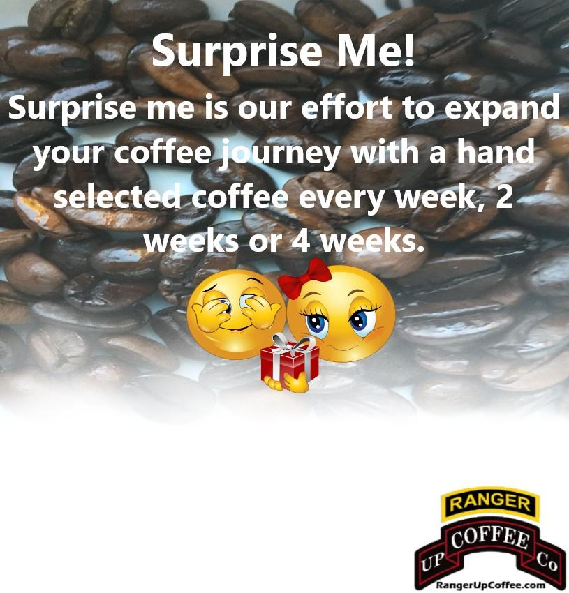 Surprise Me! Ranger Up Coffee