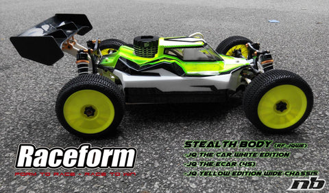 RACEFORM STEALTH BODY FOR JQ WHITE EDITION - RACERC