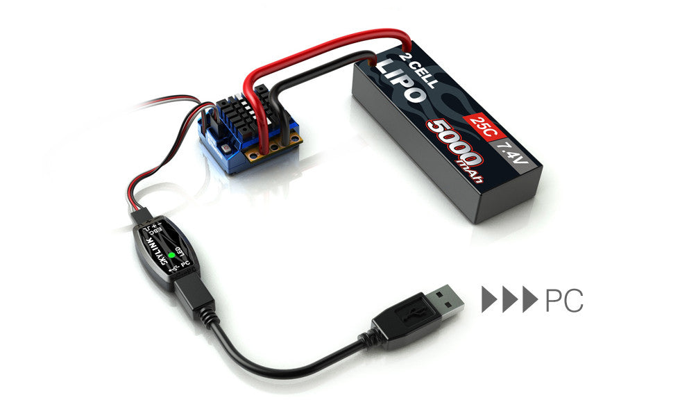 SKYRC Skylink for Toro Programable ESC - RACERC