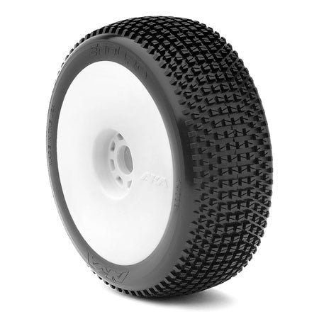 1:8 BUGGY ENDUROEVO WHEEL PRE-MOUNTED WHITE - RACERC