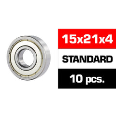 Double Metal Shielded Ball Bearing Set 24 PCS For Mugen Seiki MBX-6