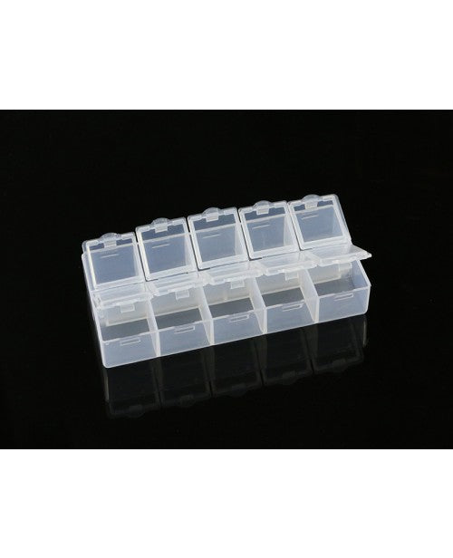 ARROWMAX 10-Compartment Parts Box (132 x 58 x 20mm) AM199524 - RACERC