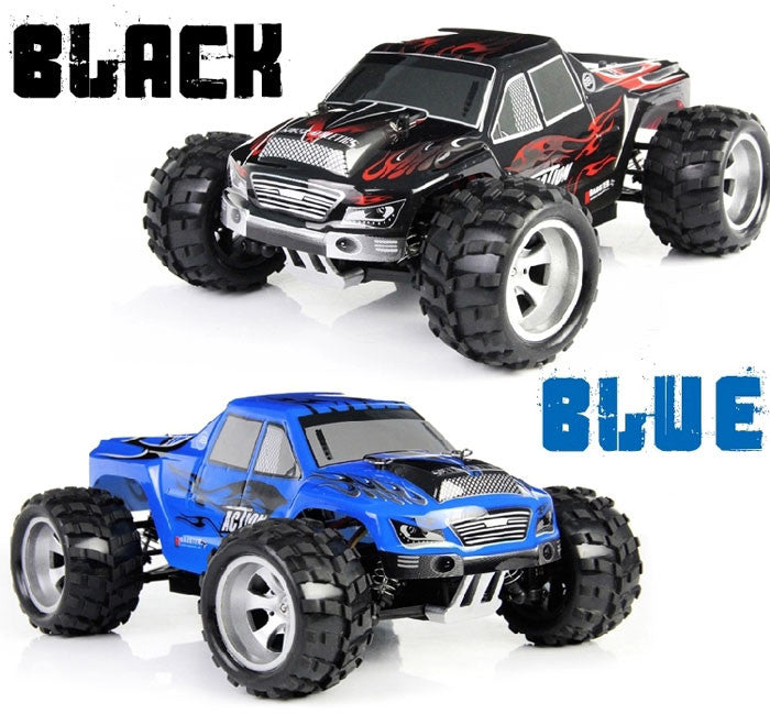 Wltoys A979 1/18 Scale Realistic 4WD 2.4GHz RC Truck Racing 50KMH High Speed Car Model - RACERC