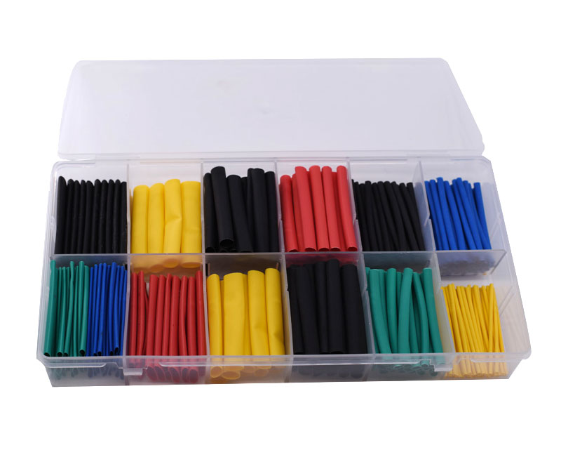 280 Pieces Colored Heat Shrink Tube Kit