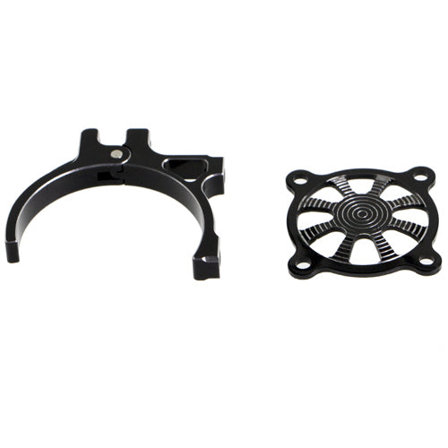 ProtonRC 36mm RC Motor Adjustable Rack with Cover (Black)