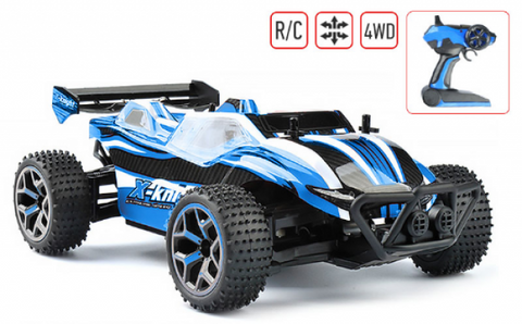 X - Knight 1 : 18 Scale 2.4GHz 4CH 4 Wheel-drive Extreme Car RTR - RACERC