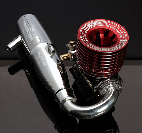 REDS X-ONE One-Piece Off-Road Tuned Pipe - RACERC