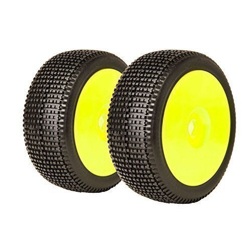 James Racing Y-Zip M3 Soft preglued , yellow rim (2) - RACERC