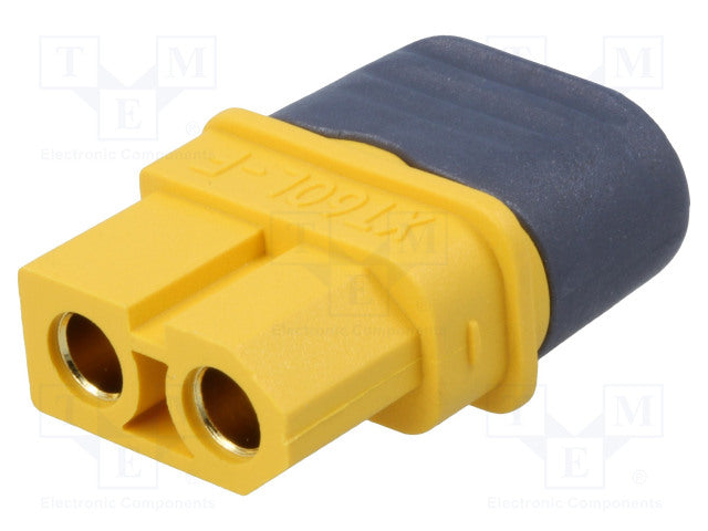 Gold connector XT60L female - RACERC