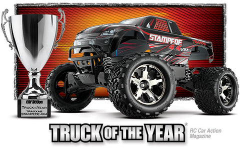 Traxxas Stampede 4X4 VXL Brushless 1/10 4WD RTR Monster Truck (Silver) w/TSM & TQi Radio