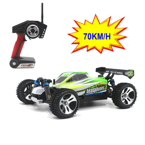 WLtoys A959-B 1/18 4WD Buggy Off Road RC Car 70km/h - RACERC