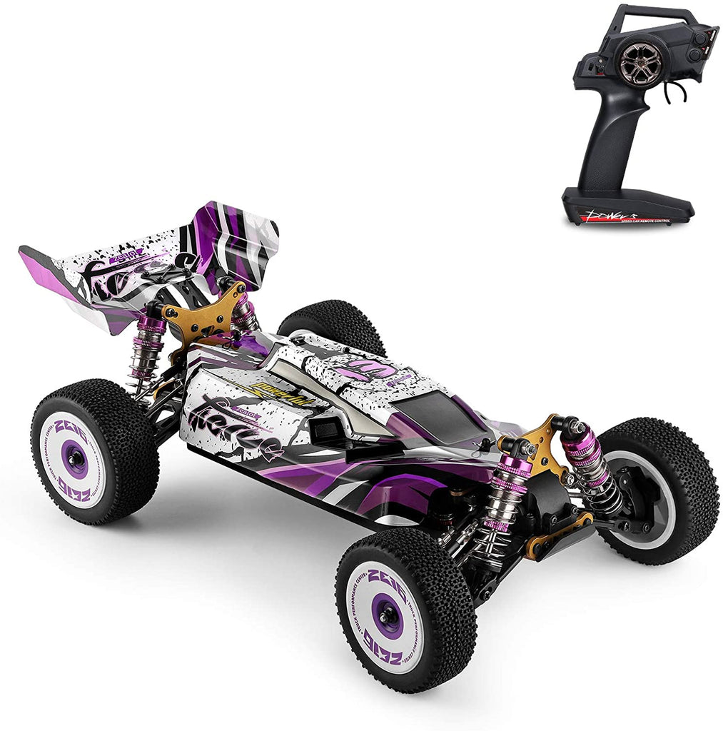 Wltoys 124019 RTR 1/12 2.4G 4WD 60km/h Metal Chassis RC Car Off-Road Climbing Truck Vehicles Models