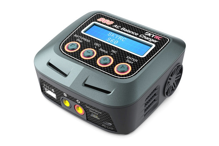 SKYRC S60 60W AC Balance Battery Charger Discharger - RACERC