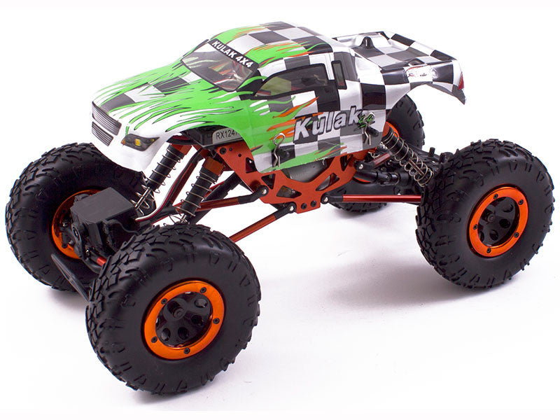 Kulak 1:18 Scale 2.4GHz Electric Powered Off-Road Crawler RTR - RACERC