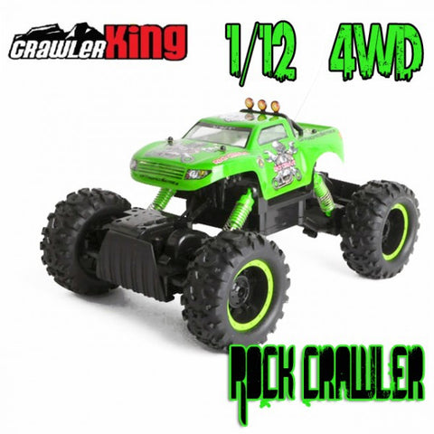 RC Rock Crawler King 4WD 1/12 Electric RTR - RACERC