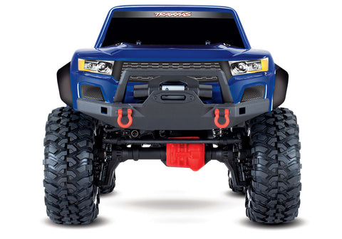 Traxxas TRX-4 Sport 1/10 Scale Trail Rock Crawler (Blue) w/XL-5 HV ESC & TQ 2.4GHz Radio