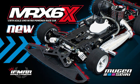 MRX6X 1/8 Nitro On Road Kit - Mugen Seiki Racing H2008 - RACERC