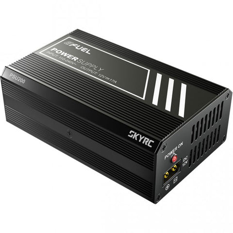 SKYRC POWER SUPPLY 200W PSU 12 VOLT 17 AMP 110-240V XT60 OUTPUT - RACERC