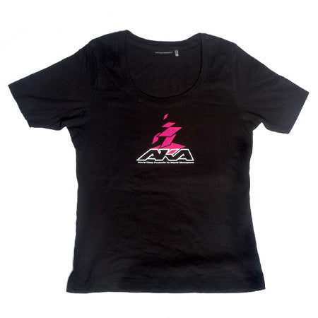 AKA DESIGN LADIES SCOOP TEE (S) - RACERC