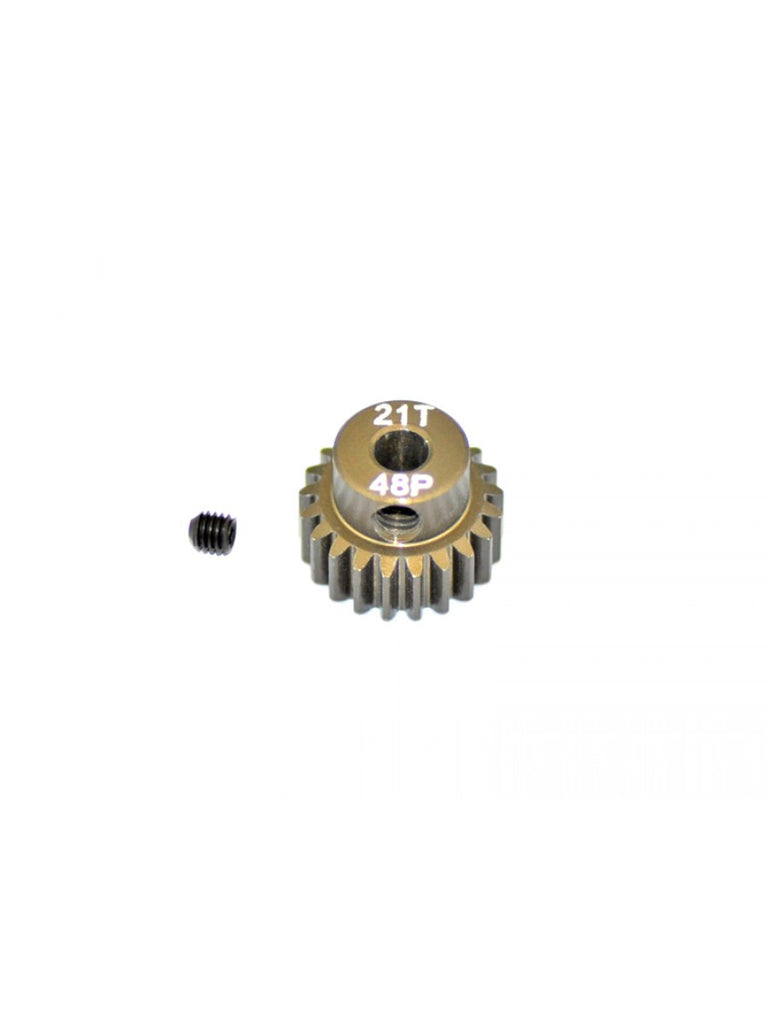 ARROWMAX AM348021 - PINION GEAR - HARD COATED - 48dp - 21 Teeth - RACERC