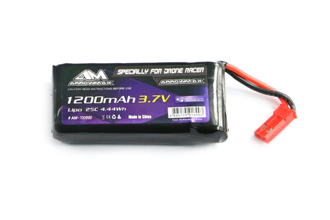 AM Lipo 1200mAh 3.7V Specially For Kyosho Drone Racer (AM-700990)