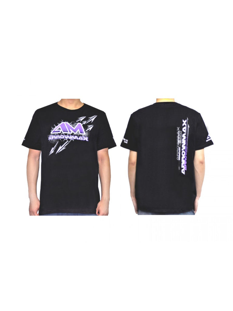 T-SHIRT  Arrowmax - Black (L) - RACERC