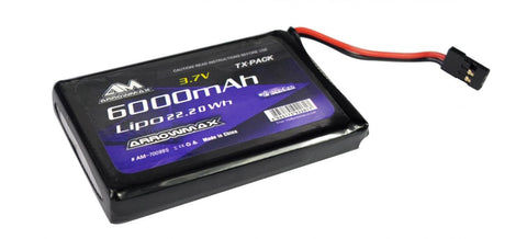 Arrowmax LiPo 6000mAh 3.7V For Sanwa M17 AM-700995 - RACERC