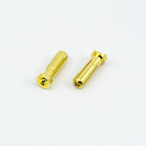 5.0mm BULLET CONNECTOR MALE (2pcs) - RACERC