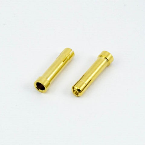 BULLET 4.0mm MALE to 5mm FEMALE ADAPTER (2pcs) - RACERC
