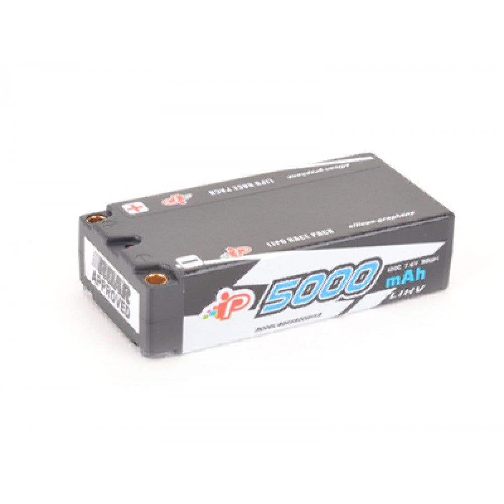 Intellect 5000mAh 2S LiHV Shorty Battery 7.6V 120C - RACERC
