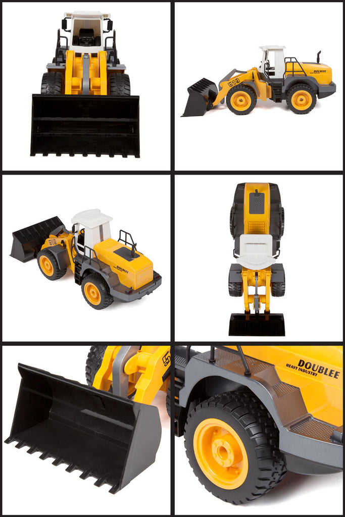 Wheeled Front-End Heavy Loader 1:20 RTR Electric RC Construction Vehicle - RACERC
