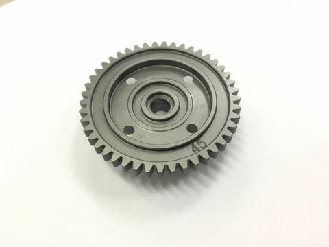 Mugen Seiki MUGEN SEIKI High Traction Diff 45T Spur Gear Silver For MBX8T MBX8 MBX7R MBX7TR