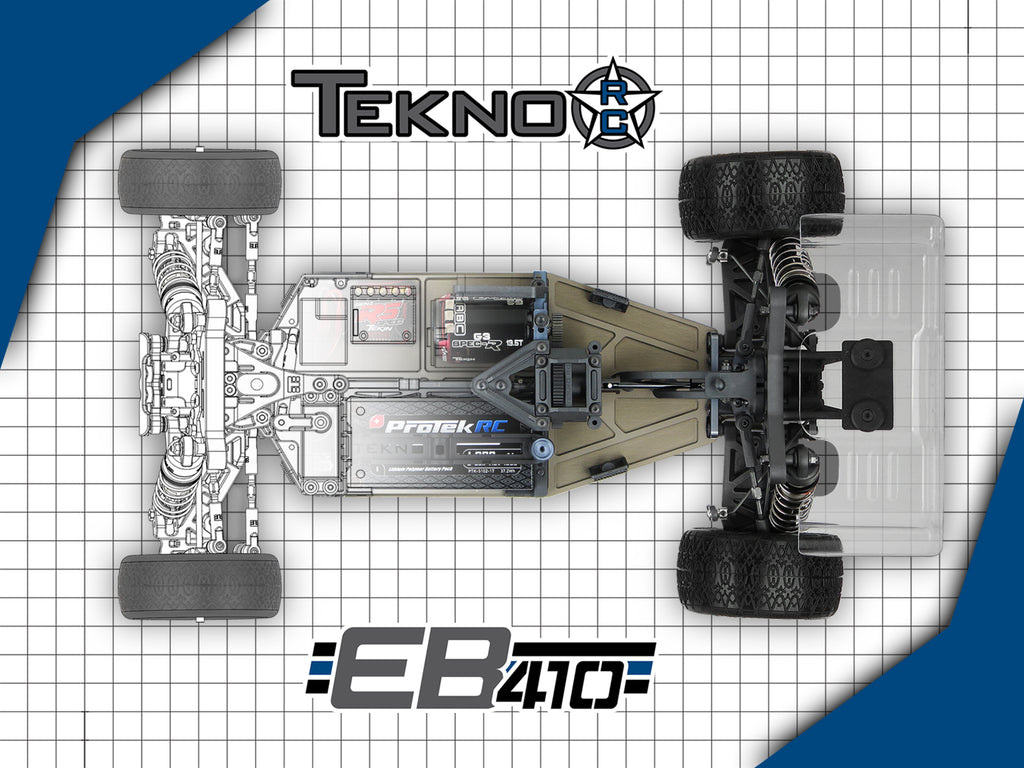 TKR6500 – EB410 1/10th 4WD Competition Electric Buggy Kit - RACERC