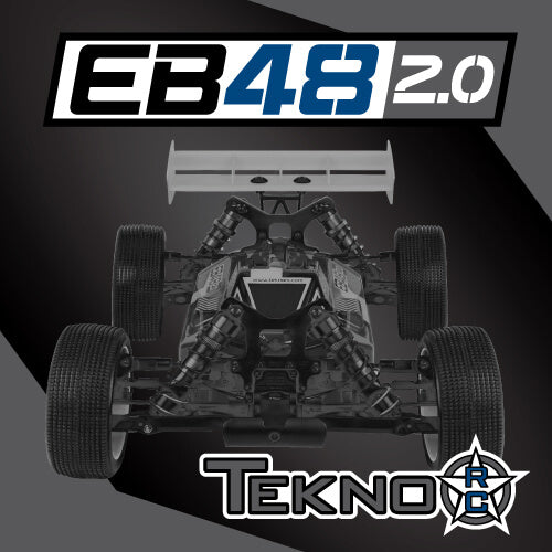 EB48 2.0 1/8th 4WD Competition Electric Buggy Kit