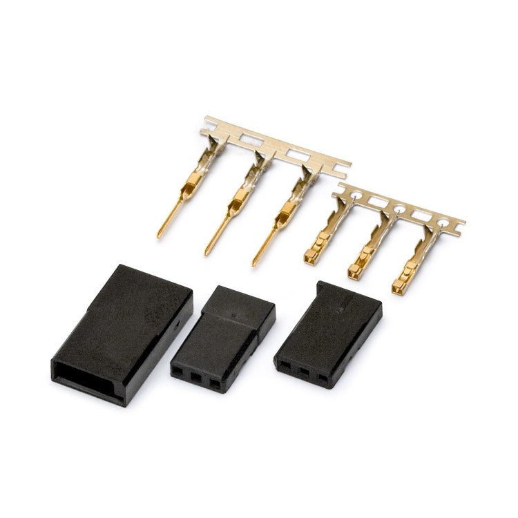 Connector Futaba gold plated pair - RACERC