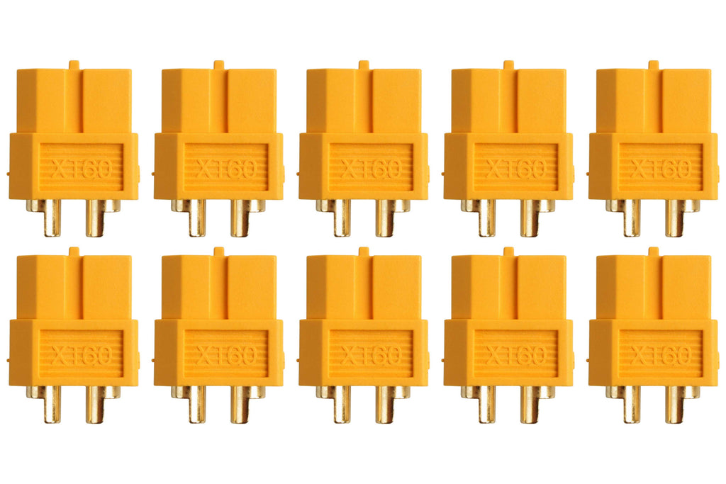 Gold connector • XT60 • 10 sockets - RACERC