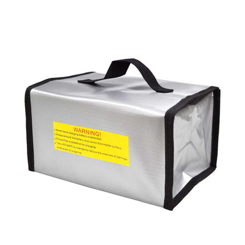 Fireproof Explosionproof Lipo Battery Safe Bag 220mm*100mm*75mm