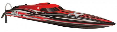 Joysway Alpha 1000mm Brushless V-Boat ARTR Red