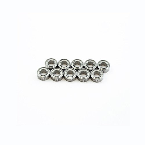 "5x10x4mm SELECT ""HS"" METAL SHIELDED CLUTCH BEARING SET (10pcs.) - RACERC"