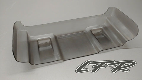 "LFR Pre-Cut ""smoke"" 1/10 off-road Tactic wing (1) - RACERC"