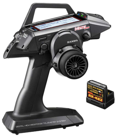 Sanwa M12S-RS FH4T 4-Channel 2.4GHz Radio System - RACERC