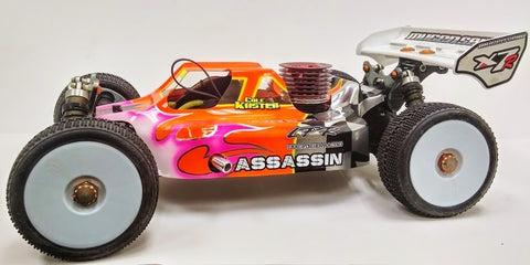 LFR Assassin body (clear) for Mugen MBX7R/8 nitro buggy - RACERC
